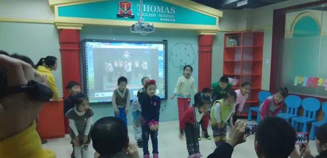 托马斯学习馆STEAM课程班的第二次大型公开课