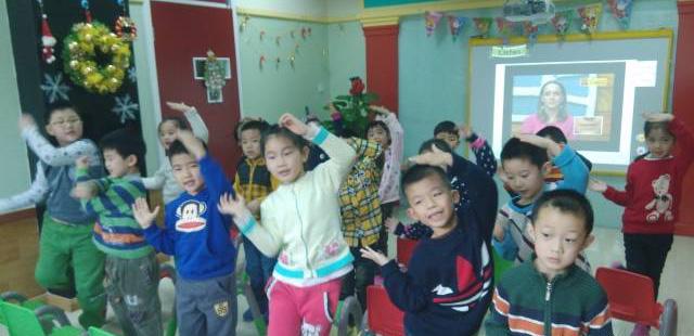 托马斯学习馆幼儿英语互动课堂