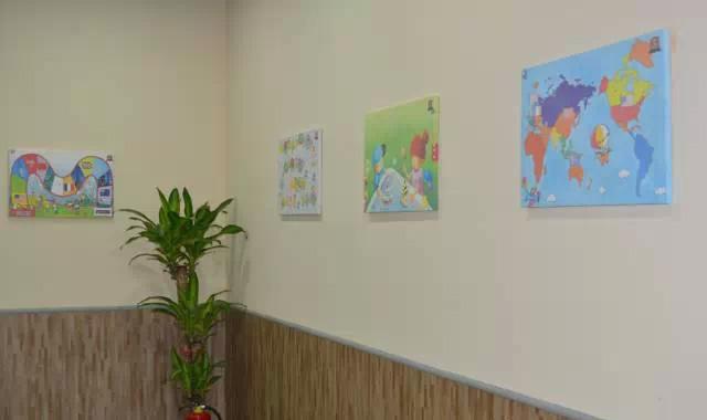 托马斯学习馆石景山金顶街校-软装墙面