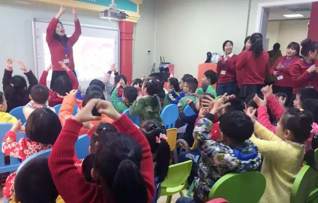 托马斯学习馆STEAM课程2015年春季新学期的师生见面会