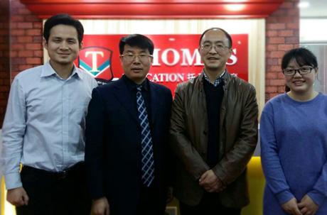 四川成都喻先生签约托马斯教育