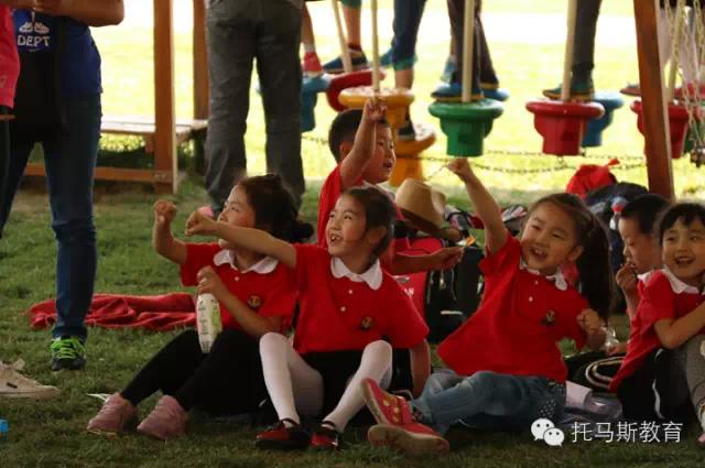 大兴托马斯学习馆黄村校母亲节亲子运动会