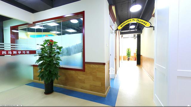 托马斯学习馆黄村校-左侧走廊