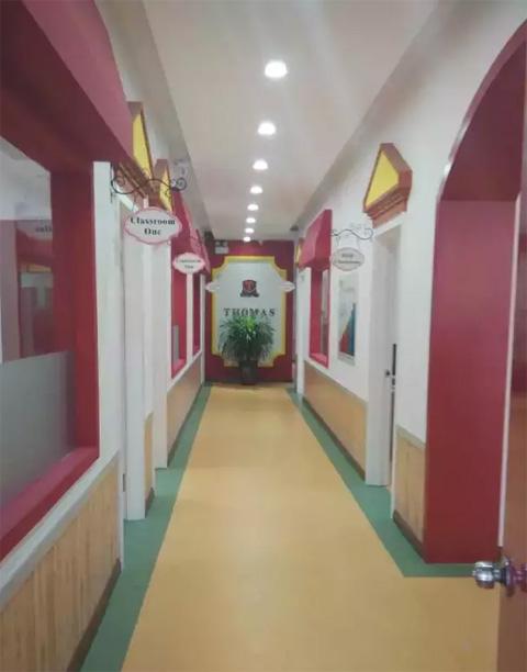 托马斯学习馆包头校-走廊