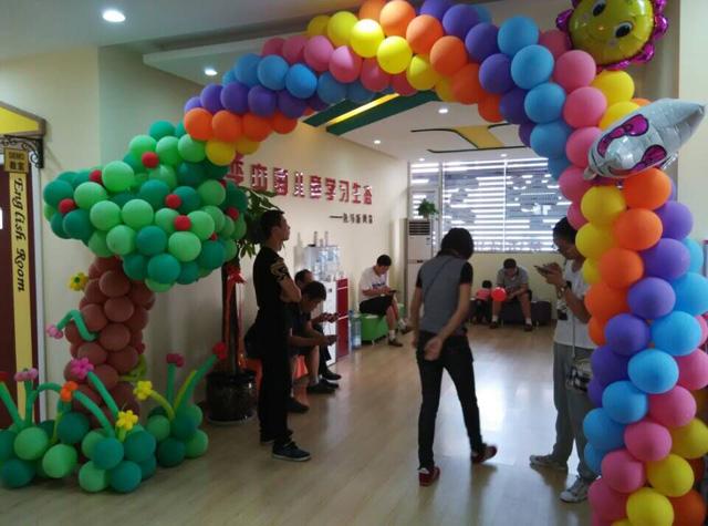 介休托马斯学习馆开业大厅休息区-等候孩子上课的家