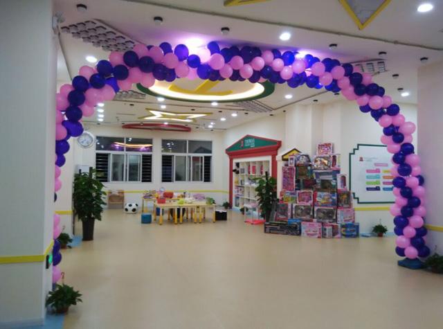 秦皇岛托马斯学习馆开业-大厅装饰