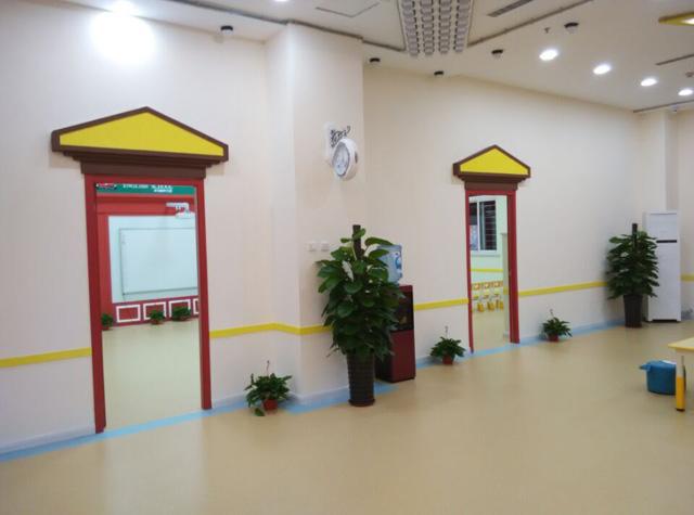 秦皇岛托马斯学习馆-明亮的教室