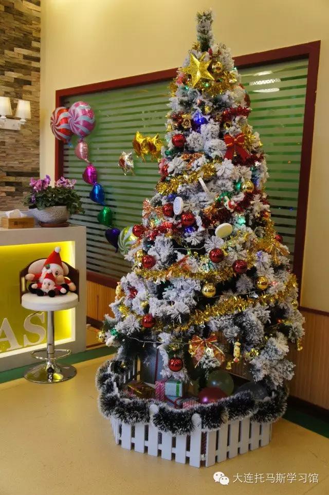 托马斯学习馆大连校-圣诞树