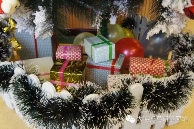 托马斯学习馆大连校-圣诞礼物