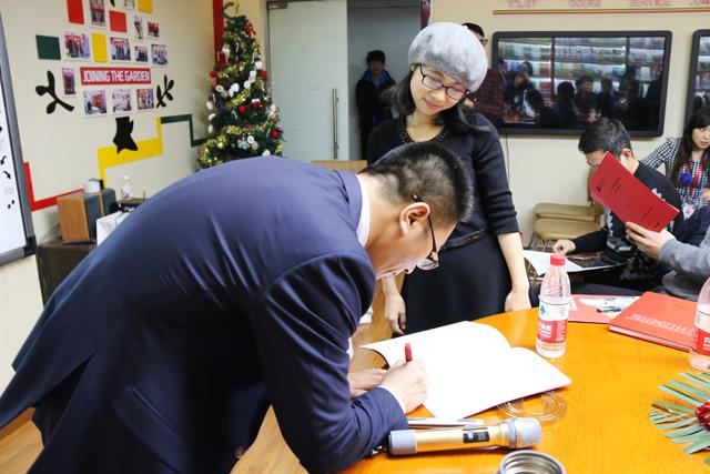 杜女士与托马斯成功签约