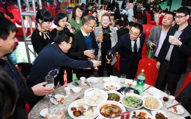 2015年度托马斯教育颁奖盛典-集体用餐