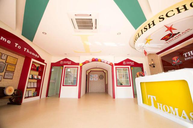托马斯学习馆金坛校-前台展示大厅