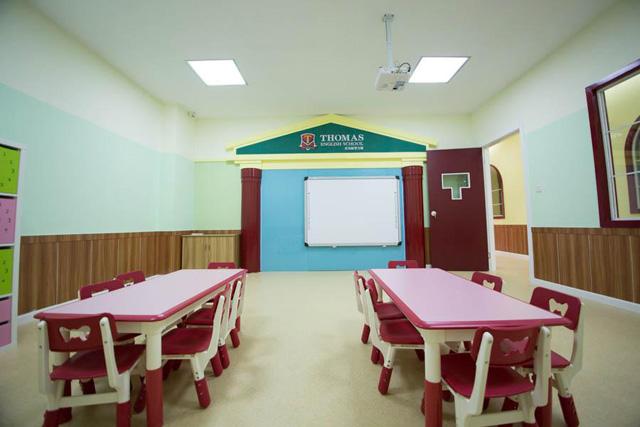 托马斯学习馆金坛校-幼儿英语Demo课教室
