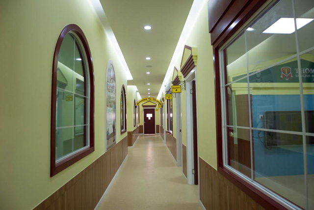 托马斯学习馆金坛校-教学区走廊