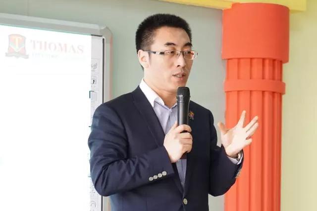 托马斯学习馆淄博校-开业总部王总讲座