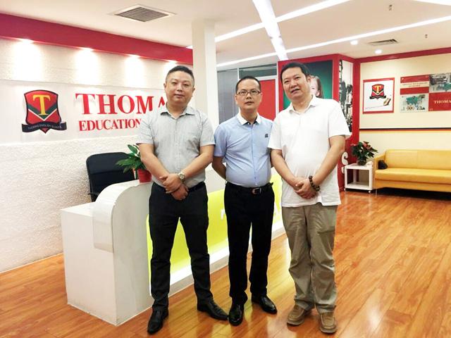 写瑞资本与托马斯教育建立战略合作