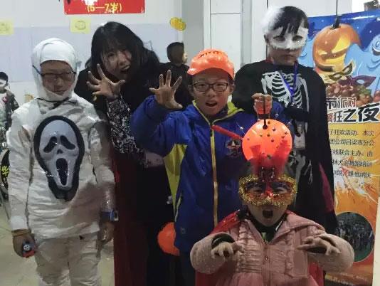 托马斯学习馆杭州城东校万圣节活动