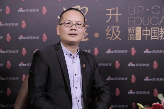 新浪教育特别独家对话托马斯教育集团董事长张振华