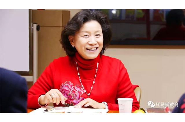 国内知名幼教专家、中国蒙台梭利专家协会副会长范女士