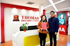 【加盟快报】武汉史女士:托马斯1+1>2模式打动我