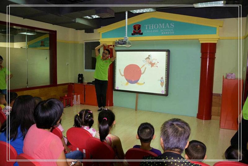 托马斯语言启蒙公开课体验分享
