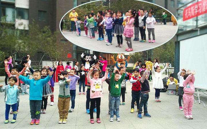 托马斯学习馆的小朋友们的舞蹈表演——《彩虹的约定》