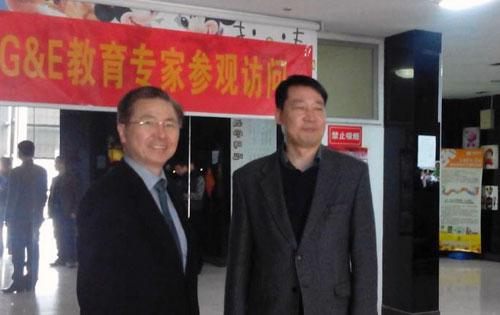 韩国G&E教育高管来访托马斯