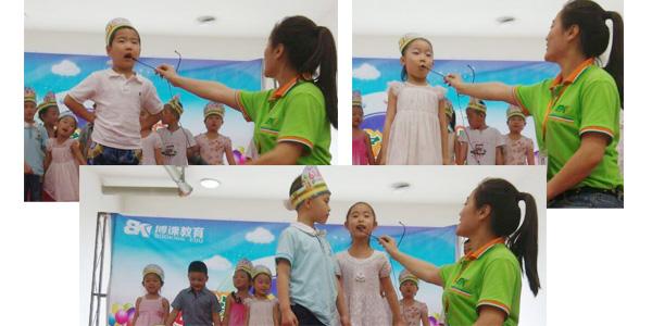 托马斯宝贝迎六一活动中孩子们的精彩讲话