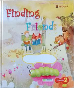 Thomas English 托马斯幼儿英语第二阶段上学期学习主题二:Finding Friends