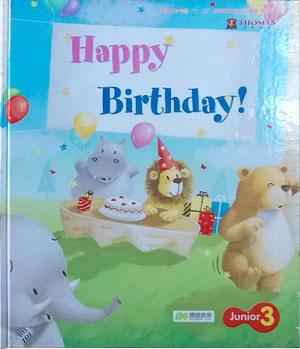 Thomas English 托马斯幼儿英语第二阶段上学期学习主题三:Happy Birthday
