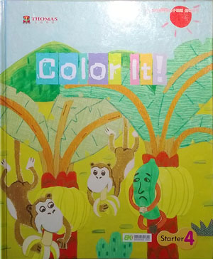 Thomas English 托马斯幼儿英语第一阶段上学期学习主题四:Color It