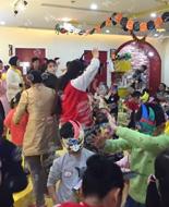 托马斯学习馆杭州东城校万圣节活动