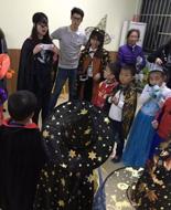 托马斯学习馆武汉南湖校万圣节活动