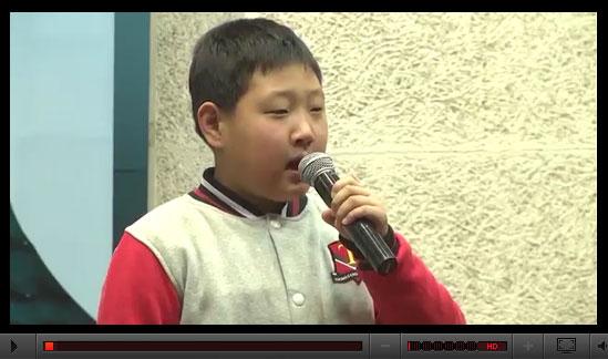 儿童英语演讲《梦想》----2015托马斯学习馆英语艺术节